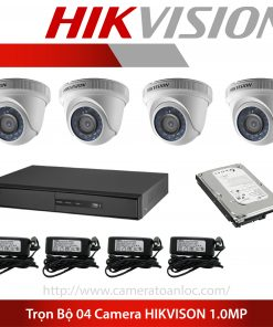 camera daklak - bộ 4 camera 1mp